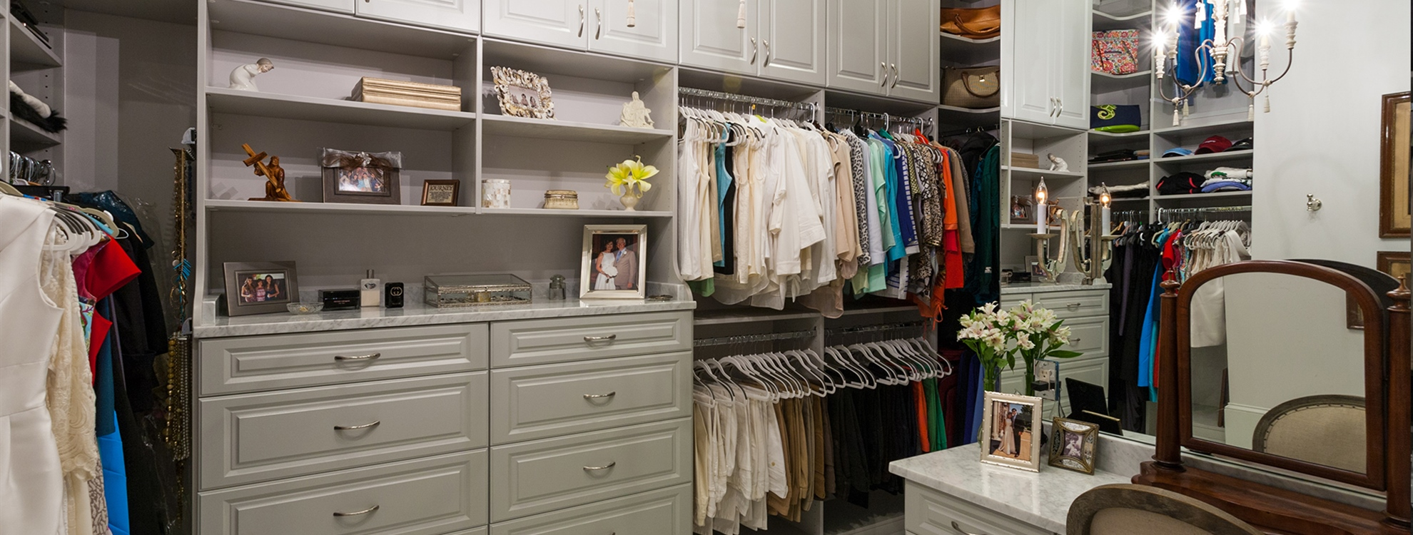 Let Us Design Your Perfect Custom Closet.