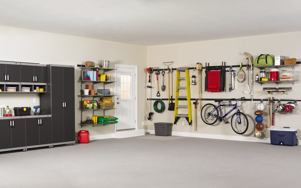 Rubbermaid Fastrack Garage Storage System Louisiana